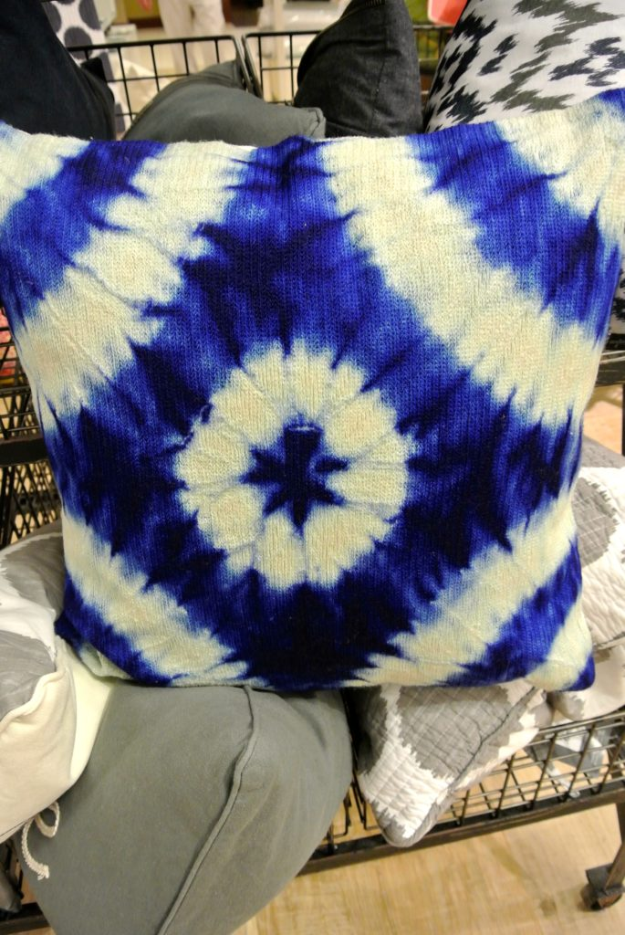 Who doesn't love some Tie-Dye pillows
